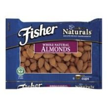 Fisher Almonds, Whole Natural, 5-Pound Packages by Fisherscones