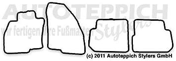 Autoteppich Stylers Fußmatten Aus Nadelfilz Mit Druck Logo Schrift Q100 Alfa L S 103 Alfa 018 Auto