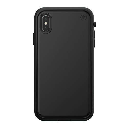 Speck Products Presidio Ultra iPhone Xs Max Case, Black/Black/Black