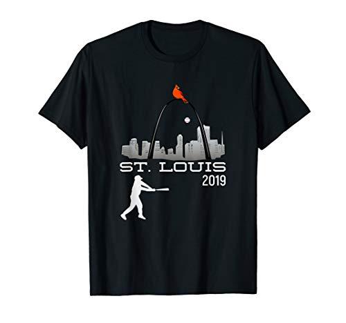 Saint Louis Red Cardinal Tshirt 2019 Hometown Player Design T-Shirt (St Louis Cardinals Best Players 2019)