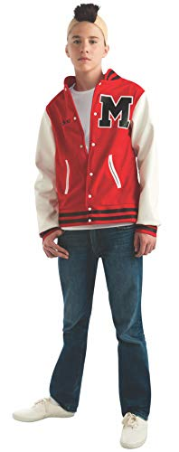 Glee Puck Football Player Teen Costume, Standard Color, One Size]()
