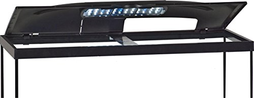 MarineLand LED Light Hood for Aquariums, Day & Night Light (20 Gallon Long Fish Tank)
