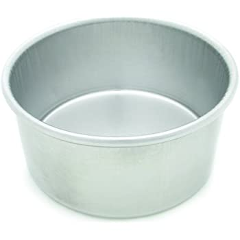 Parrish's Magic Line Round Cake Pan, 6 by 3-Inches Deep