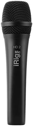 IK Multimedia high definition handheld microphone