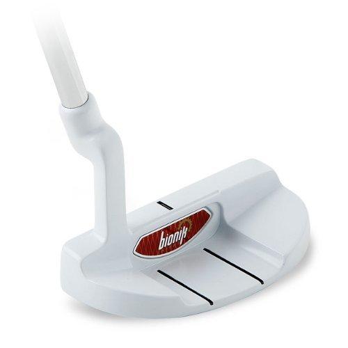 Bionik Golf 105 Custom Assembled Putter, Nano White