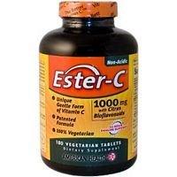 American Health Easter C Vegetarian Tablet, 1000 Mg - 180 per pack - 2 packs per case. ()