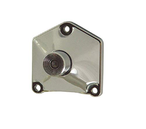 Mid-USA 17758 Chrome Starter Solenoid PushButton End Cover