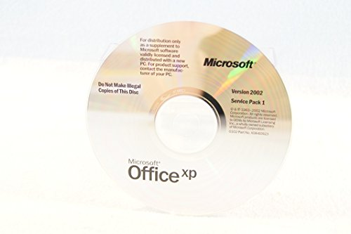 Microsoft Office XP Version 2002 Service Pack 1 Replaceme...