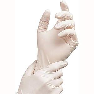 QUAKER® Latex Medical Examination Hand Glove...