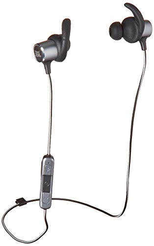JBL Reflect Mini 2.0, in-Ear Wireless Sport Headphone with 3-Button Mic/Remote – Black