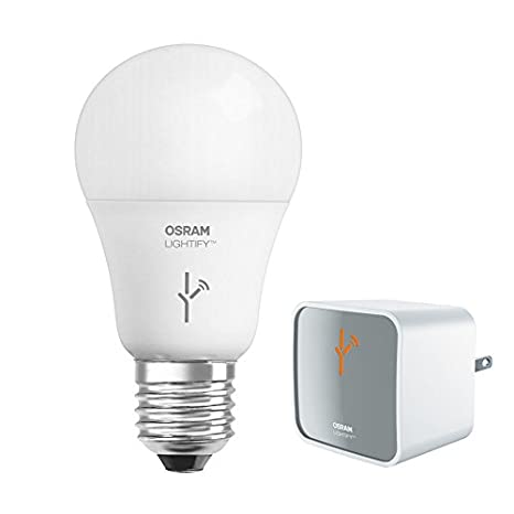 Sylvania – Bombilla Osram 73830 Lightify Smart iluminación conectada LED Starter Kit 9,5 W