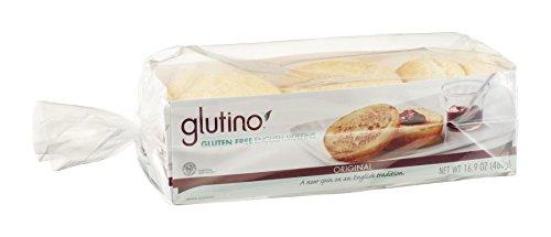 Glutino English Muffins, Pack of 18 by Glutino