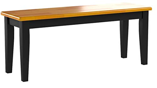 Boraam 36536 Shaker Bench Black Oak Renovation Store