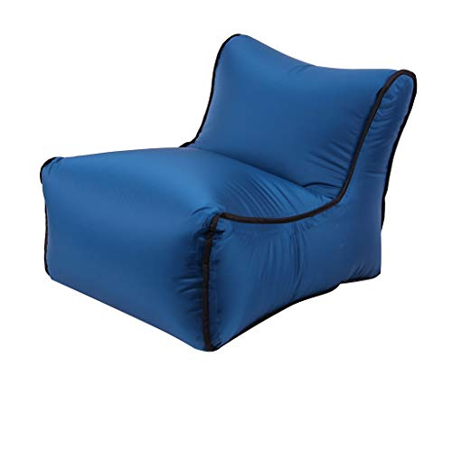 Yu2d  Inflatable Air Lounger Couch Chair Sofa Bags Outdoor Party Camping Travel NY(Navy) ()