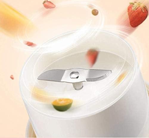 Portable Juicer Blender, Coupe des aliments for bébés Jus Voyage USB mélange machince avec 6 lames mises à jour avec 4000mAh puissant moteur rechargeable