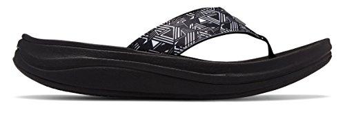 [New Balance(ニューバランス)] 靴?シューズ レディースサンダル Revive Sport Thong Black with White ブラック ホワイト US 11 (28cm)