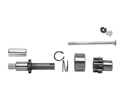 Big Twin Parts (KCInt 10 Tooth Starter Jackshaft for Harley Davidson Big Twin Models)