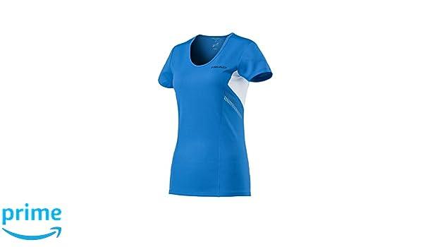 Head Club Technical Shirt Women Camisetas, Mujer, Azul, Extra ...