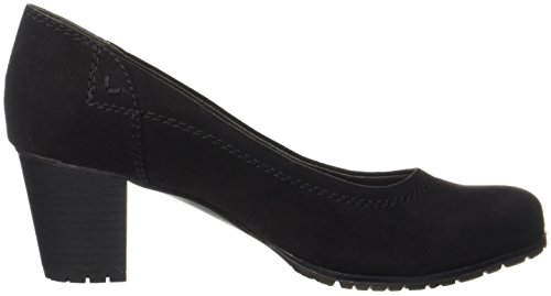 Jana Women's 22401 Closed-Toe Pumps Black 6ThdsufEo
