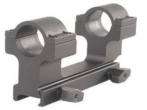 ProMag AR-15/M16 Flat Top Dual Ring Aluminum Scope Mount, Black, 1-Inch