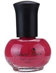 Nail Polish,10ML Nail Art Top Coats OrganizerSolid State for Nail Gel Set-Non Toxic Chemical Uv Yellow Polish,Safe and Effective (I)