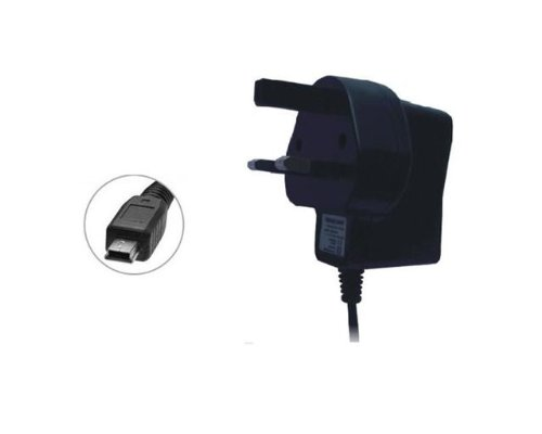 UK Mains Travel AC Home Wall House Charger For Garmin Nuvi 56LM 55LM 55 66LM Sat Nav Models