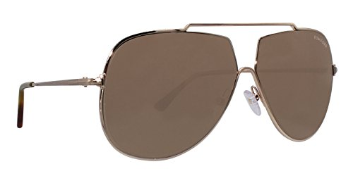 Sunglasses Tom Ford FT 0586 Chase- 02 28E shiny rose gold/brown