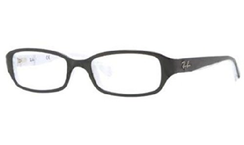 Ray Ban Junior RY1529 Eyeglasses-3579 Top Black on - Ban Ray And Black Sunglasses White