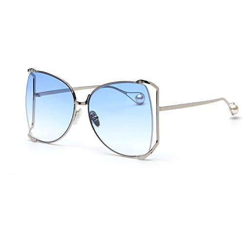 Rimless Shades - FAGUMA Oversized Sunglasses For Women Semi Rimless Brand Designer Shades