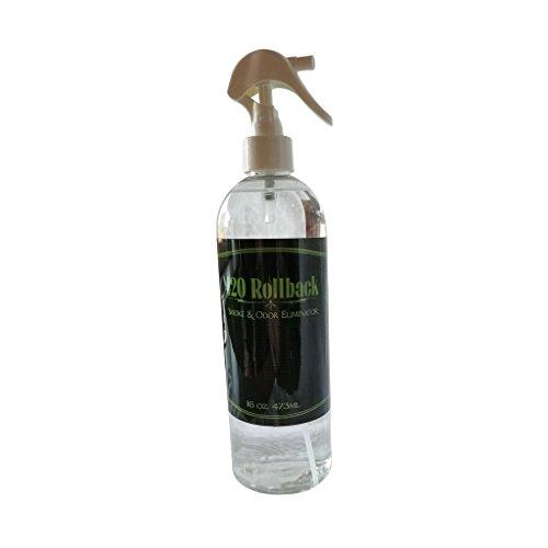Large 16oz 420 Rollback Smoke & Odor Eliminator Bottle - Get Back to a Zero Odor & Zero Smoke Smell by Mari Kyrios Creations