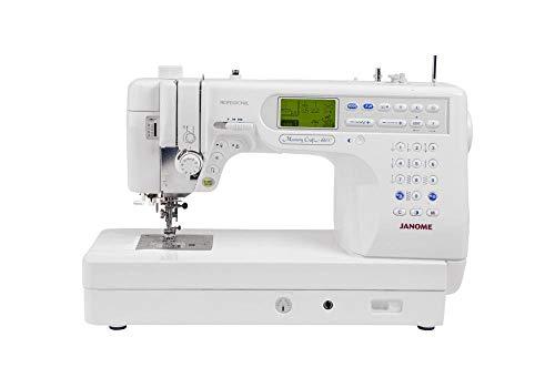 Janome Memory Craft 6600p - Janome Memory Craft 6600P Professional Computerized Sewing Machine (Renewed)