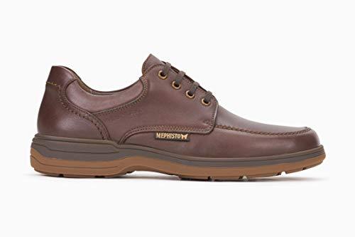 Mephisto Walking Shoes - Mephisto Men's Douk Oxford Chestnut Leather 10.5 M US