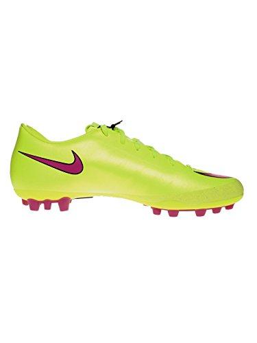 Nike - Botas de fútbol para hombre Amarillo GIALLO FLUO
