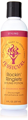Jessicurl Rockin Ringlets Styling Potion, No Fragrance, 8 Ounce