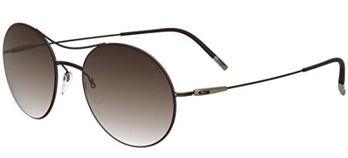 Silhouette Gafas de Sol TITAN BREEZE 8694 BROWN/BROWN SHADED ...