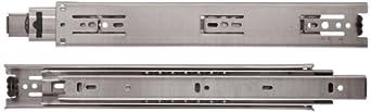 Sugatsune ESR-3813 304 Stainless Steel Drawer Slide, Full Extension, Positive Stop (1 Pair)