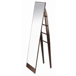 Umbra Trellis Floor Mirror With Towel Ladder Stand