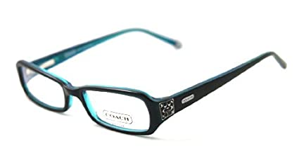 7b7e22094e41 Amazon.com: Coach CC 2016 Kitty 414 Navy Eyeglasses - 50mm: Coach: Health &  Personal Care