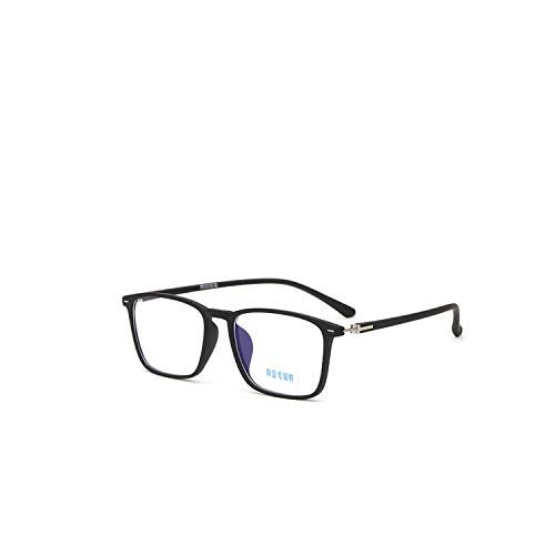 Blue Light Glasses Square Optical Frame Men Computer Glasses Prescription Minus Myopia Очки Для Компьютера AE0720 Matte Black