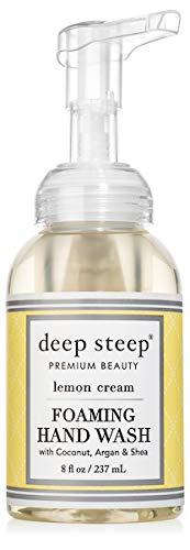 (Deep Steep Foaming Hand Wash, Lemon Cream, 8 Ounce)