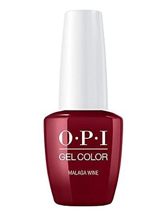 Opi Gelcolor Esmalte De Gel De Uñas Color Málaga Vino 15 Ml