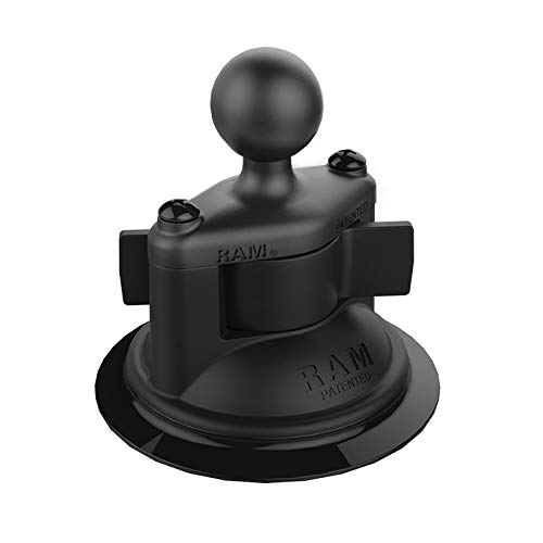 RAM Twist-Lock Composite Suction Cup Base with Ball