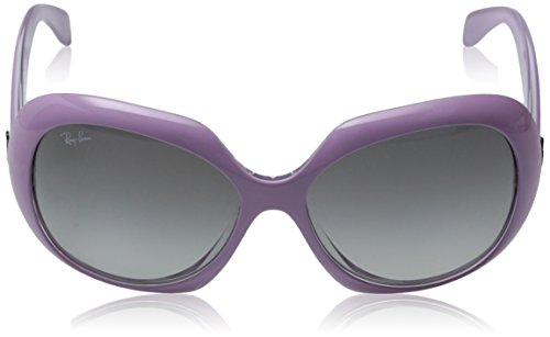 Ray-Ban INJECTED WOMAN SUNGLASS - TOP PINK ON TRANSPARENT Frame GREY GRADIENT DARK GREY Lenses 55mm Non-Polarized by Ray-Ban (Image #2)