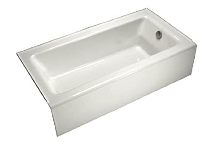 KOHLER K-876-0 Bellwether Bath with Integral Apron and Right-hand ...