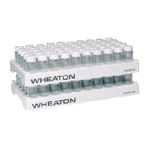 Wheaton Science Products 868806 Scintillation Vial Rack, 50-Hole (Pack of 5) ()
