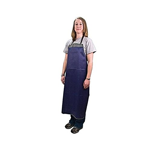 United Scientific LBAP02 PVC-Coated Heavy Duty Laboratory Apron, 42
