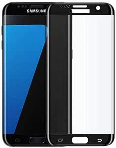 زجاج مقوى واقي شاشة مقاوم للكسر لجوال سامسونج جالاكسي إس7 إيدج 5.5 إنش Samsung S7 EDGE