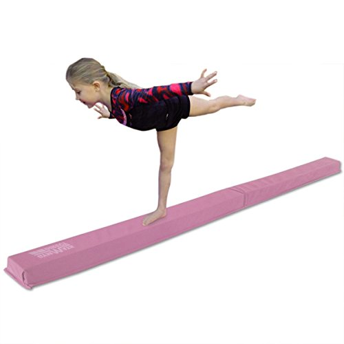 Balance beam for gymnastics