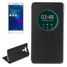 SmartLike Ultra Slim Soft Flip Cover Four Corner Protection Window PU Flip Cover for Asus Zenfone 2 Laser ZE550KL