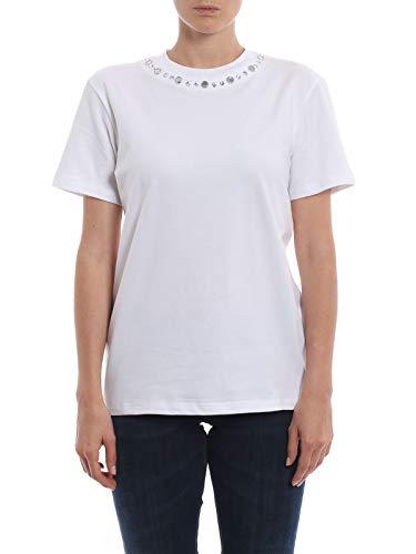 S746js0205q70000 Mujer Dondup Algodon T Blanco shirt aw1qg15